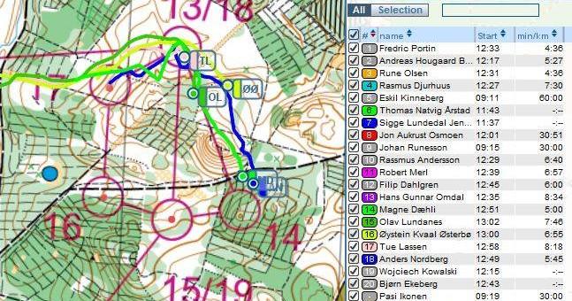 Danish spring 2014 – European Orienteering Champs Portugal 2014 selection races